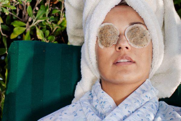 Masque végétale pour les yeux vue 1