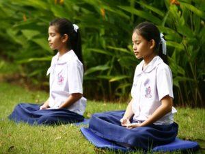 pratique méditation sur un zabuton