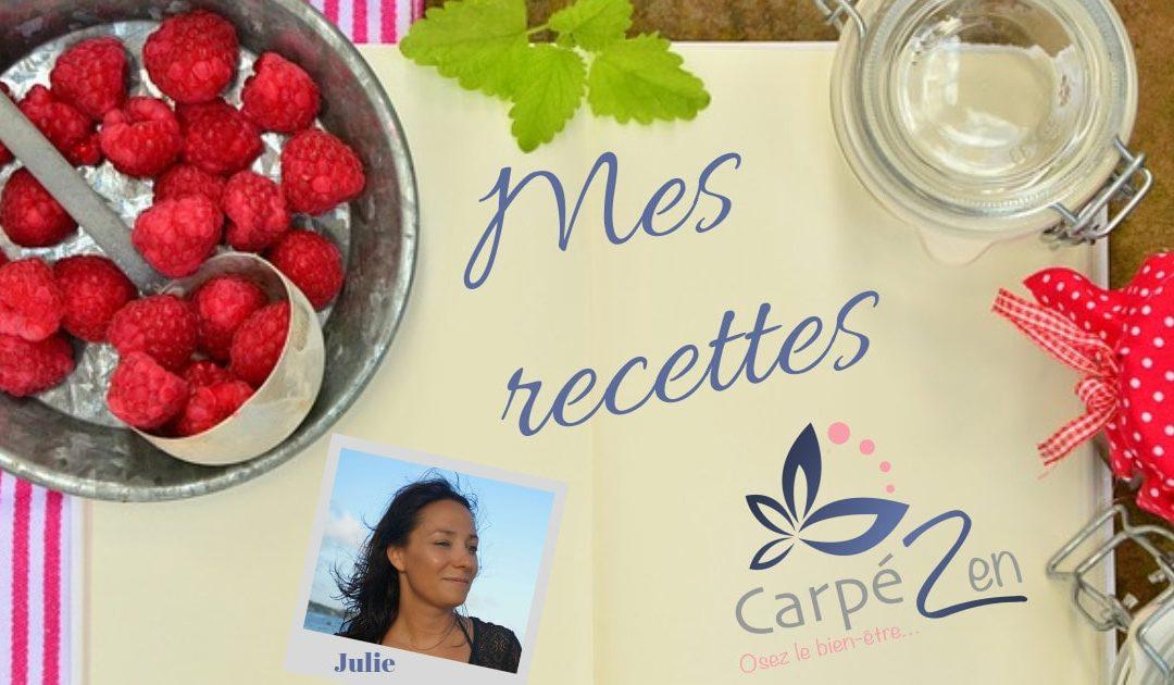 mes recettes Carpé zen