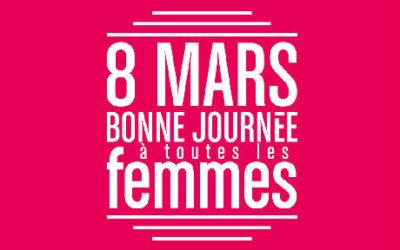 HOMMAGE AUX FEMMES EXTRAORDINAIRES – 8 MARS JOURNÉE DE LA FEMME
