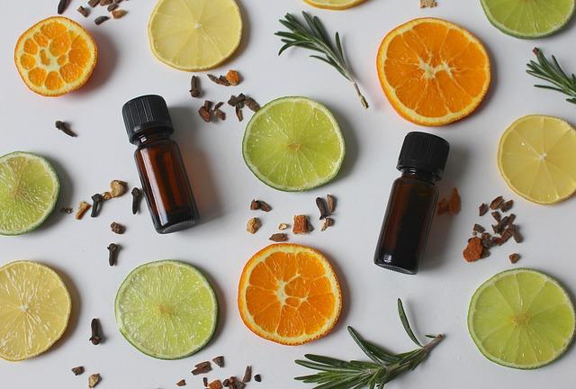 huiles essentielles oranges